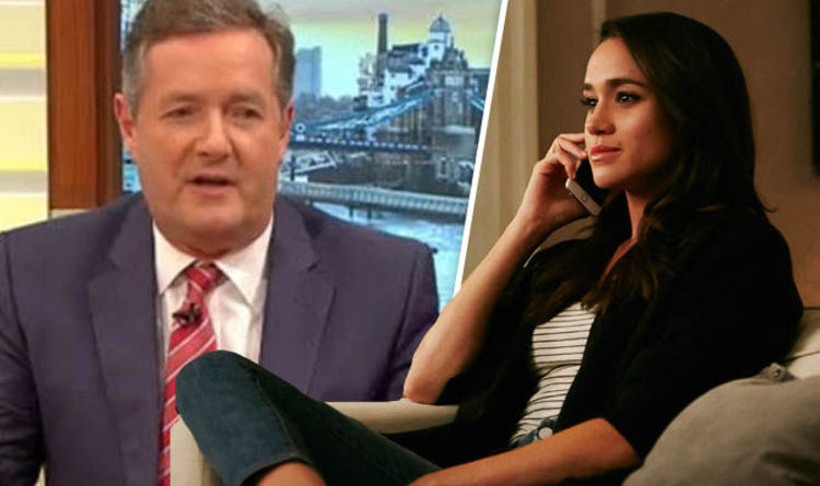Piers Morgan says Meghan Markle is fake