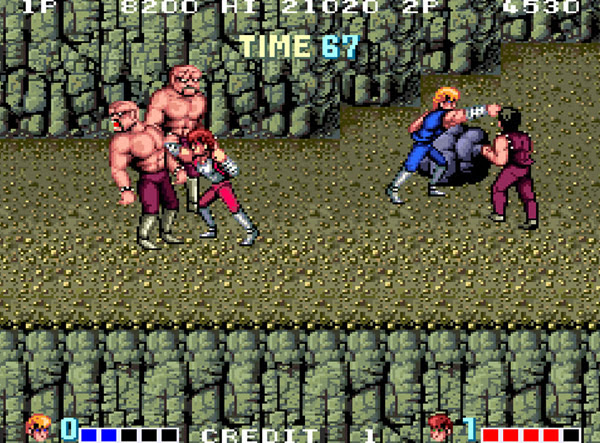 double dragon arcade game online