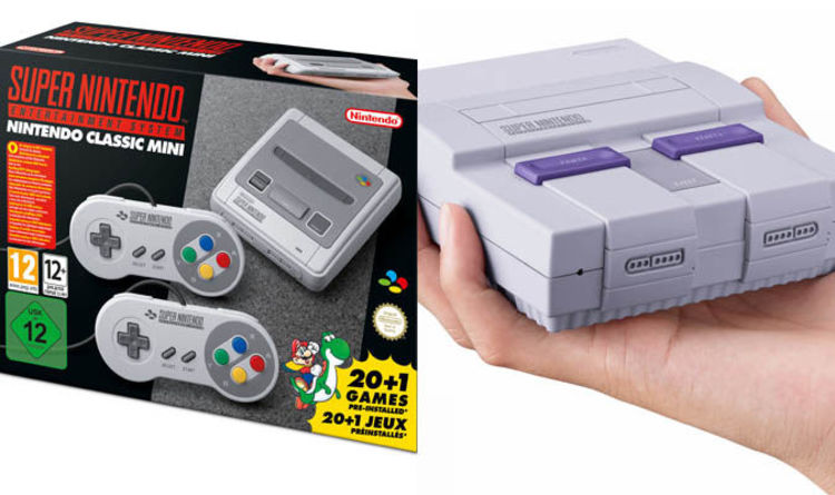 Snes Classic Mini Has Two Editions Fans Have Chosen Their Favourite Super Nintendo Design Gaming Entertainment Express Co Uk