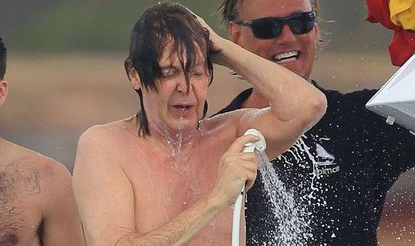 paul Nude mccartney celebrities