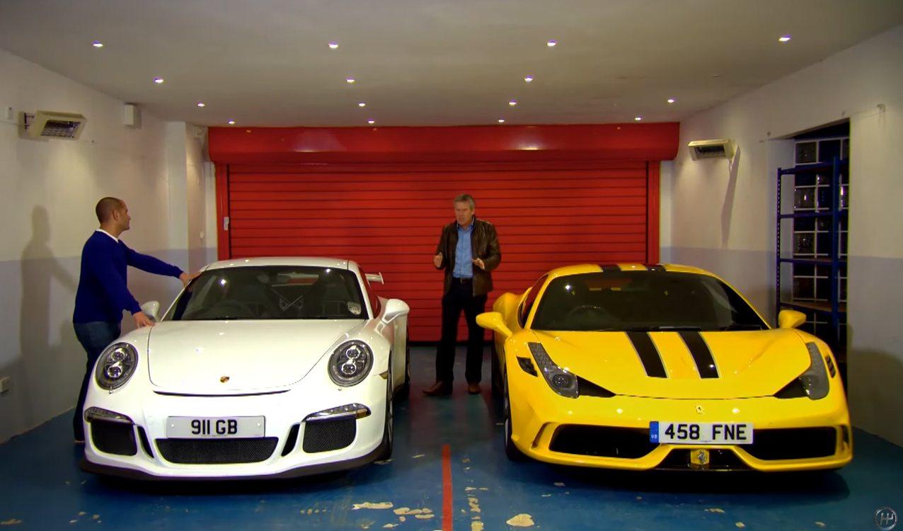 Testing Agility Ferrari Vs Porsche
