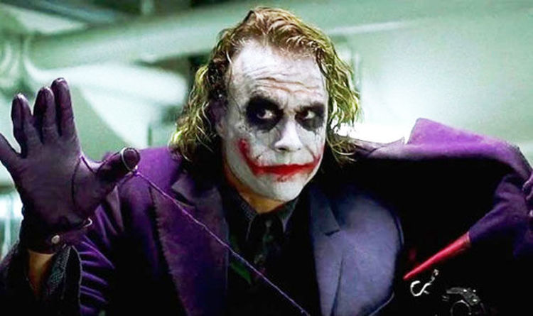heath ledger was set to reprise the joker in the dark knight rises films entertainment expresscouk
