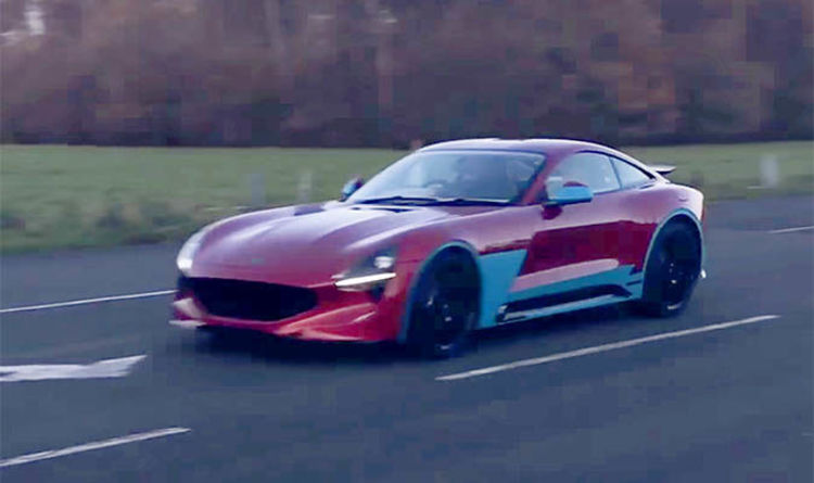 Tvr Griffith New Car And Engine Noise Revealed In Latest Test Video Express Co Uk