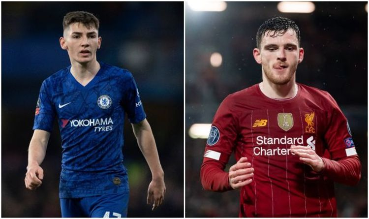 Chelsea news: What Andy Robertson told Billy Gilmour after Liverpool FA Cup clash | Football | Sport | Express.co.uk