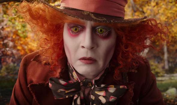 Image result for Depp as Mad Hatter