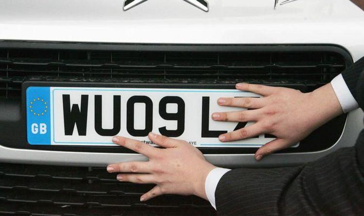 DVLA number plate value calculator - Your registration could be
