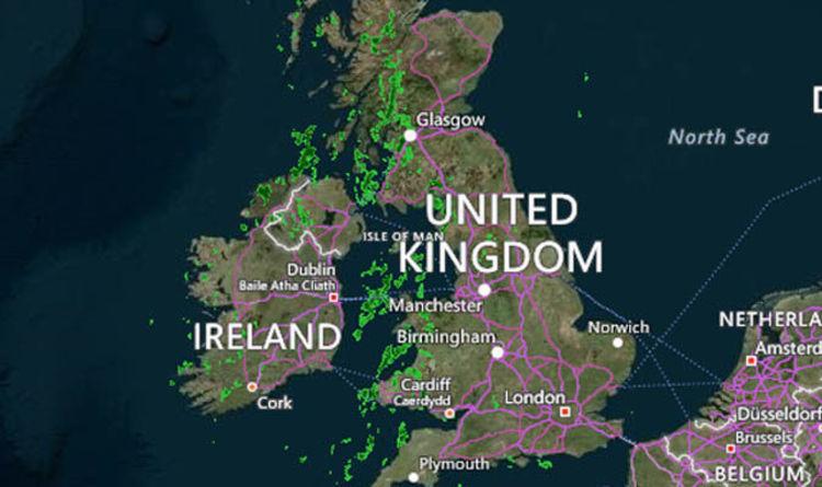 Met Office Rain Radar Britain Set For Four Days Of Rain Latest Weather Forecast