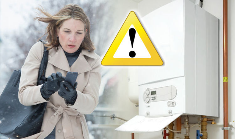 Is your boiler making a loud banging noise? What to do as snow sets