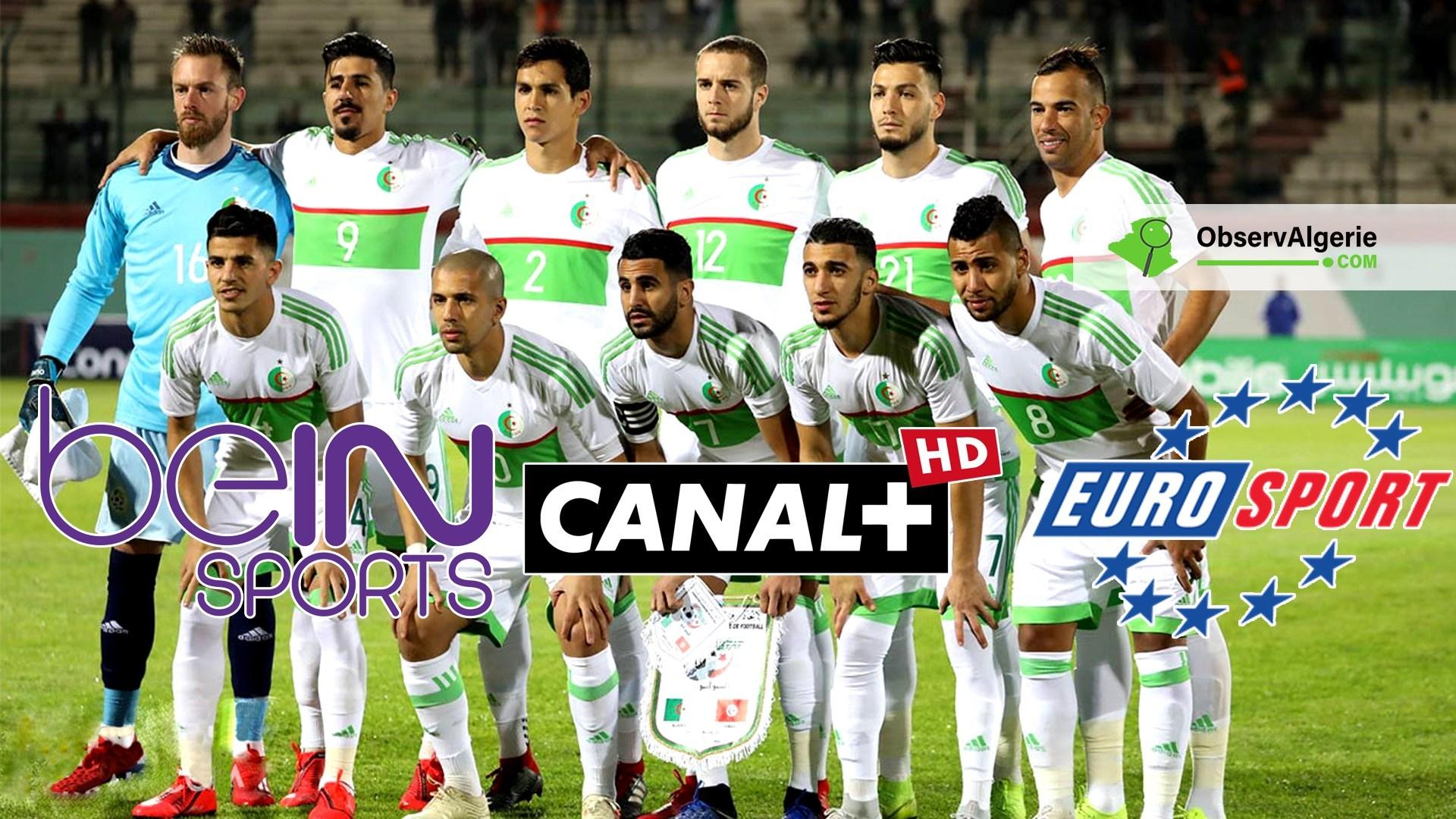 Algérie : voici les chaînes qui diffuseront la Coupe d
