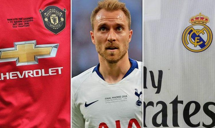 Tottenham Star Christian Eriksen Picks Between Man Utd And Real