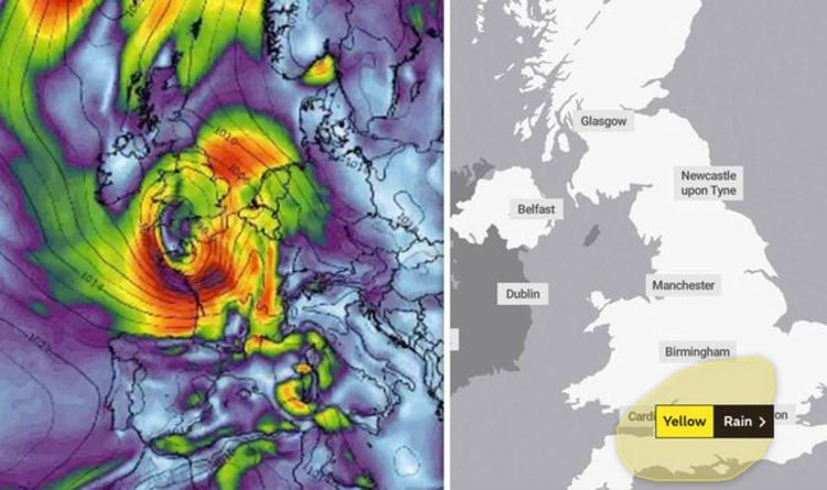 UK weather: Met Office warns of severe Storm Miguel TODAY - which