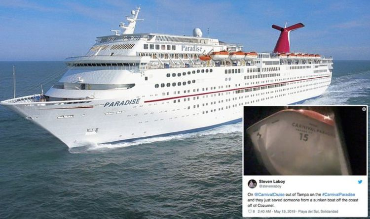 Carnival Cruise Ship Launches Rescue Of Sinking Sailor Following Distress Call Off Mexico Cruise Travel Express Co Uk