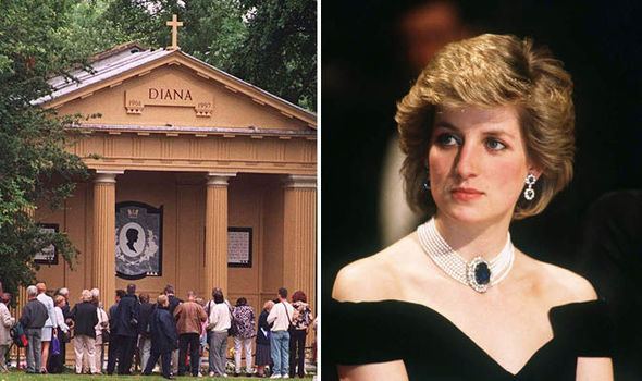 Image result for princess diana grave images
