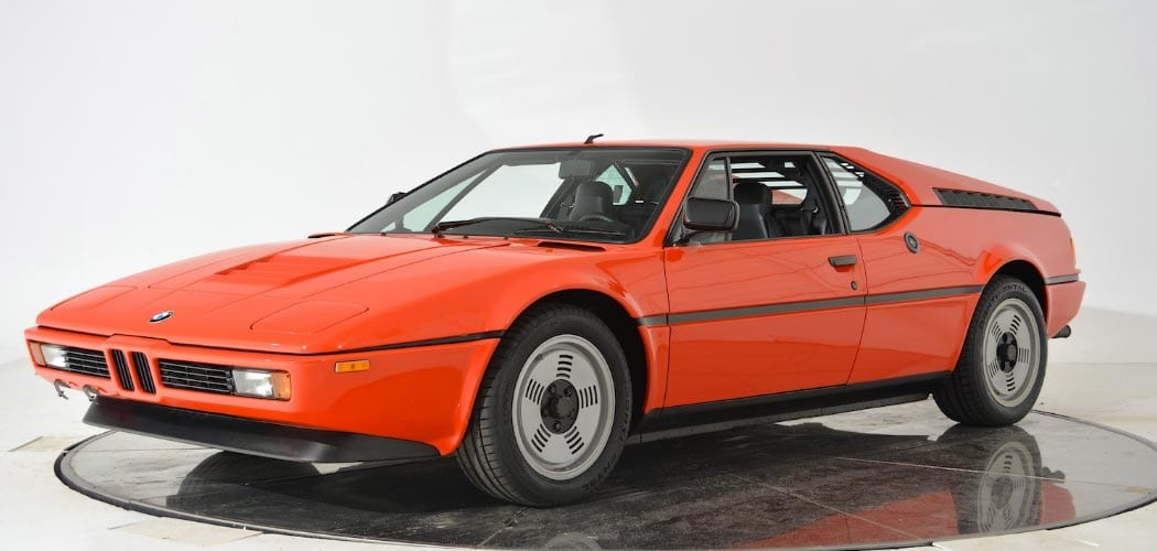 BMW M1 For Sale >> 1981 Bmw M1 For Sale For 499 900 Autofluence