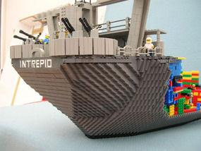 world s biggest aircraft carrier in lego uk news express co uk