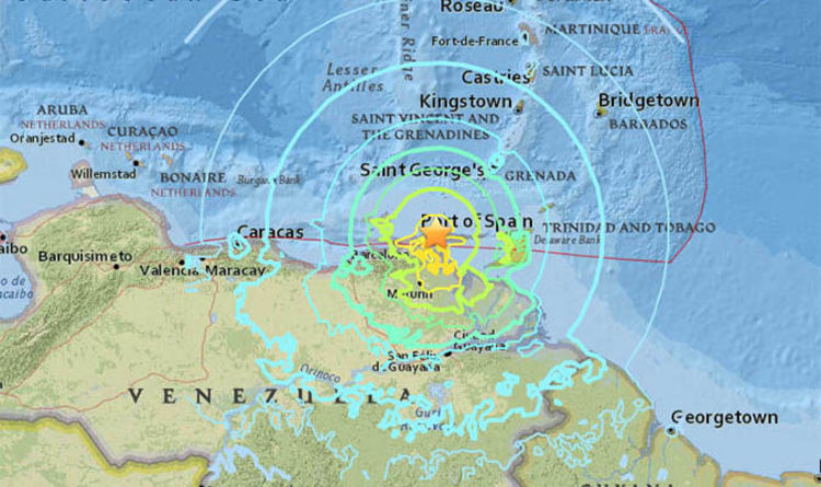 Venezuela Earthquake Map Where Is Venezuela Is It On The Ring Of