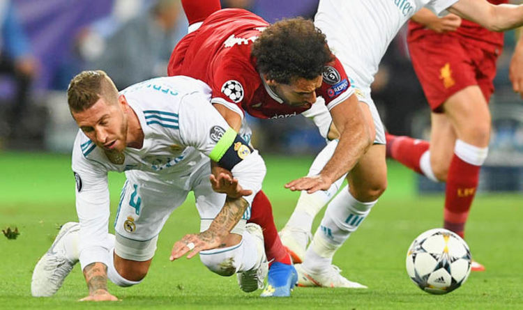 39a180a260a Mohamed Salah injury  Sergio Ramos sends message… but Liverpool fans aren t  buying it