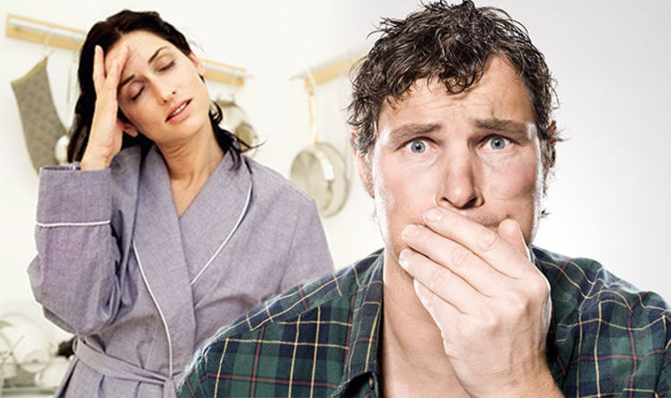 Low blood pressure: Feeling sick and dizziness among symptoms of the