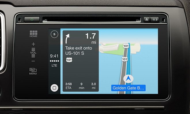 Don T Expect To Use Google Maps With Apple Carplay Techcrunch