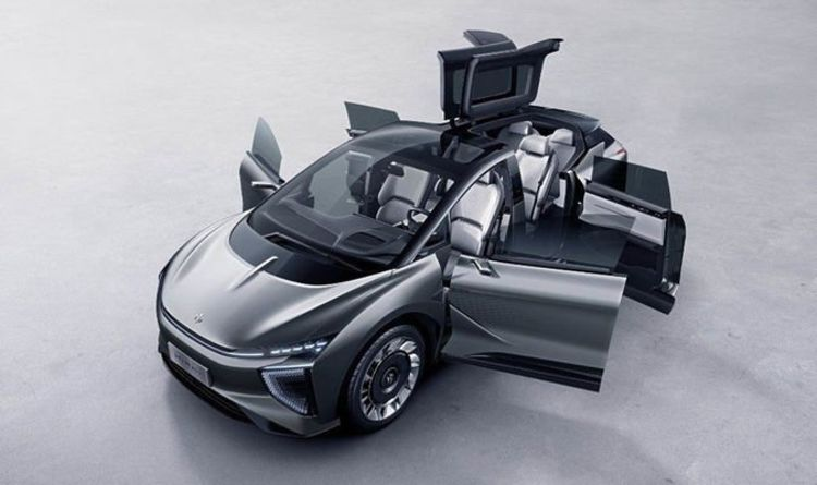 Electric cars - Tesla Model X inspired EV revealed with awesome