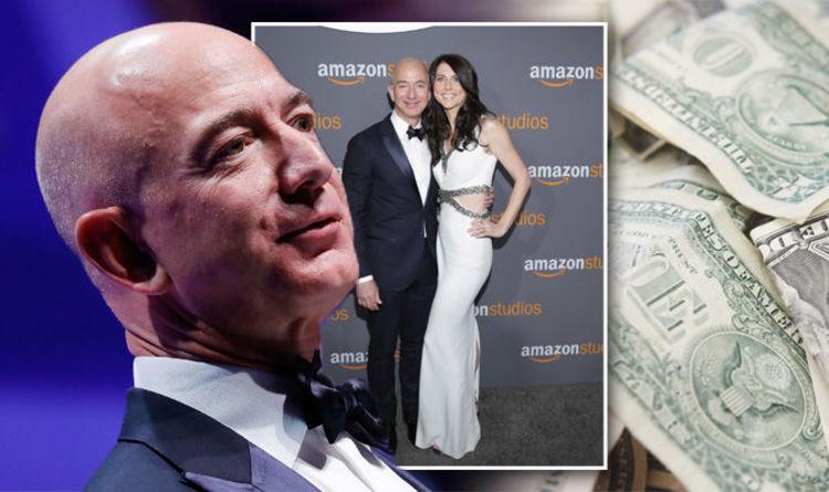 Jeff Bezos Net Worth Massive Sum Of The Richest Man In The World