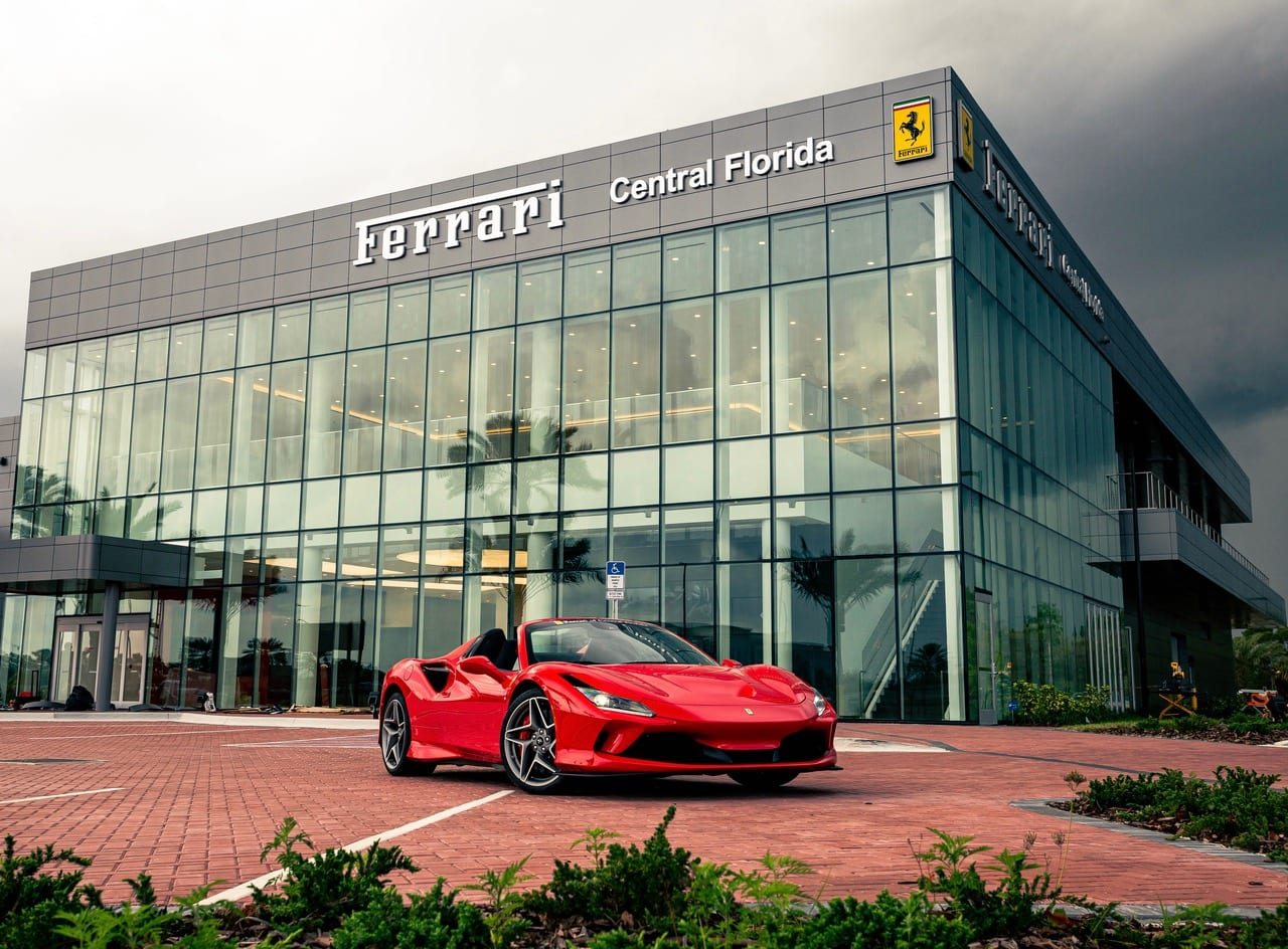 Ferrari Of Central Florida Opens Nation S Largest Dual Branded Dealership