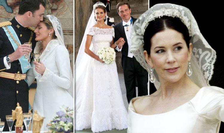 Royal Wedding Dress From Kate Middleton To Princess Mary Royal