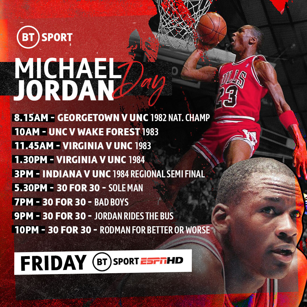Sitio de Previs munición Inconsistente  Four new Michael Jordan documentaries will be aired on Friday 29th May |  TalkBasket.net