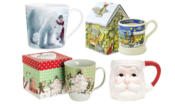style trend design holiday festive christmas mugs uploadexpress - Cheap Christmas Mugs