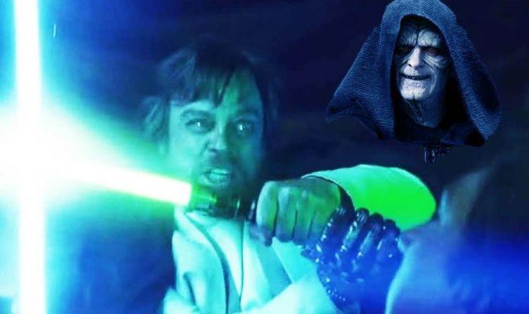 Star Wars 9 Palpatine Made Luke Skywalker Attack Kylo Ren Horrifying Revelation Films Entertainment Express Co Uk