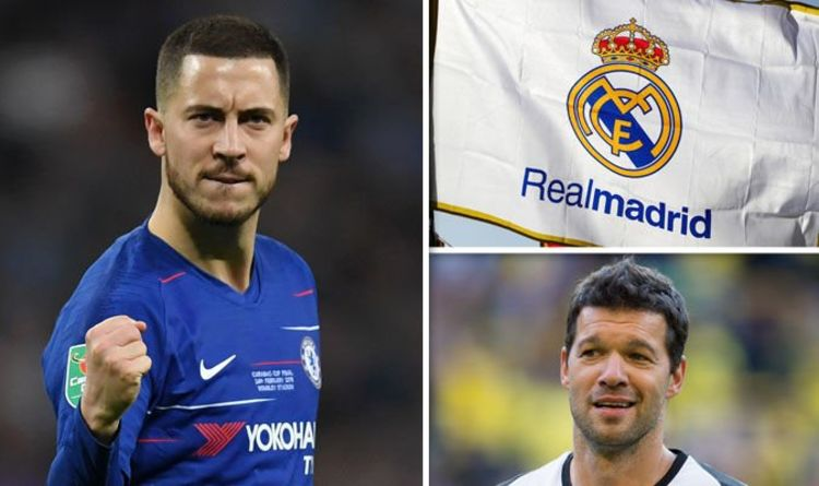 b0d215431df Chelsea star Eden Hazard could SNUB Real Madrid for two reasons - Michael  Ballack