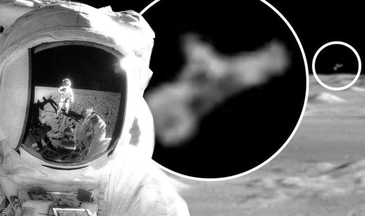UFO sighting: 'Alien craft' spotted during NASA Apollo 12 moon walk