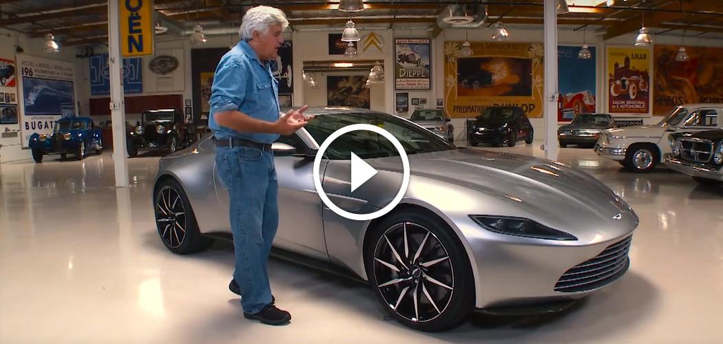 Jay Leno Drives Bond S Aston Martin Db10 From Spectre