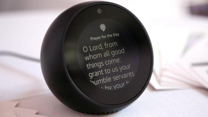 Say a little prayer for me: Alexa app helps users to connect