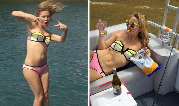 Katrina darrell in a bikini