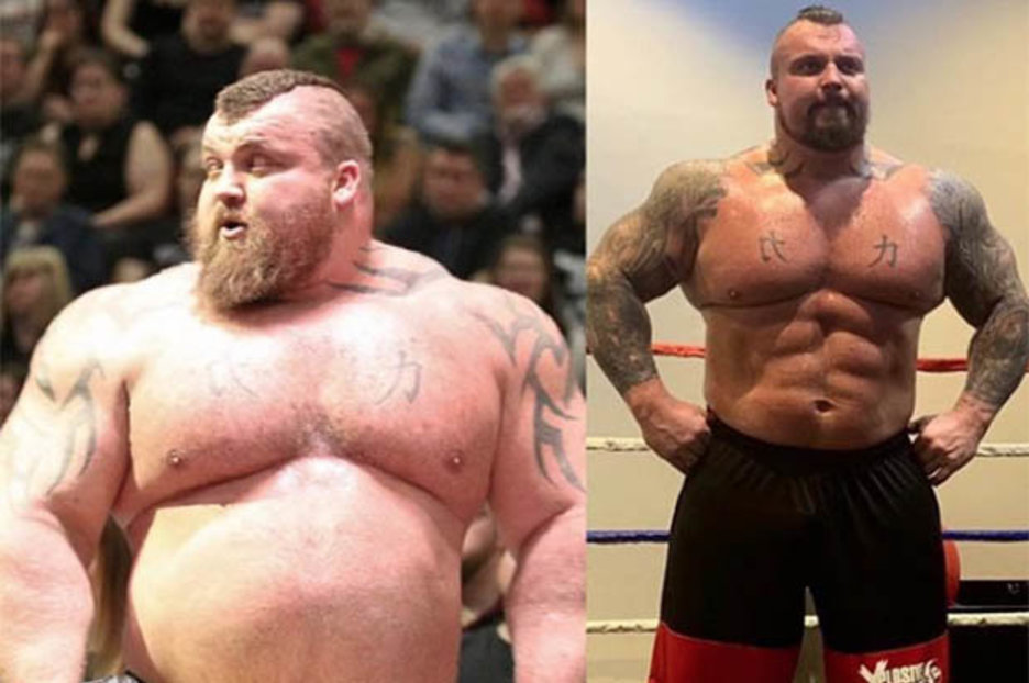 Eddie Hall Weight Loss This Is How The Worlds Strongest Man Champion Shed 5st