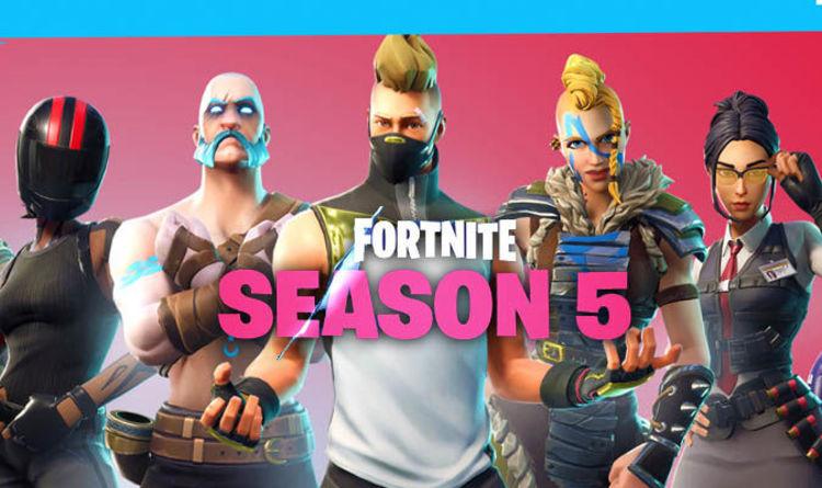 fortnite season 5 skins official skins revealed for new battle pass and update v5 0 - all fortnite default skins