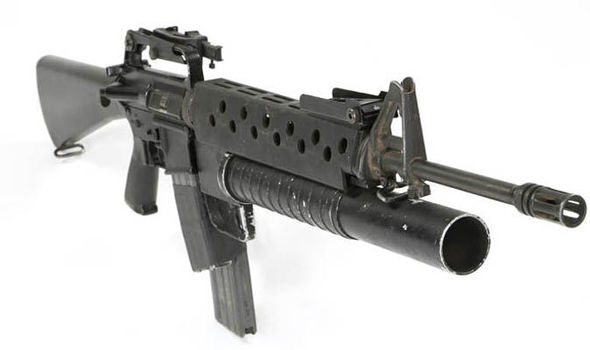 Scarfaces Famous Machine Gun Is For Sale Films Entertainment