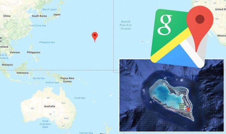 Google Maps: Remote Pacific Ocean island hides horrifying WW2 ...