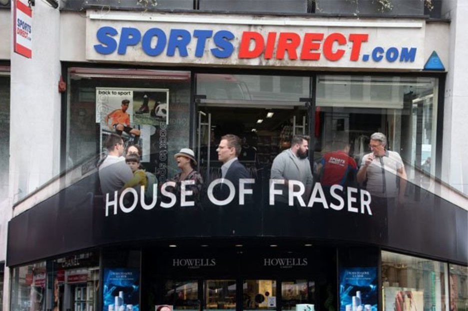 High Street BLOW  Sports Direct and House of Fraser shopping centre stores  to CLOSE 796769a81