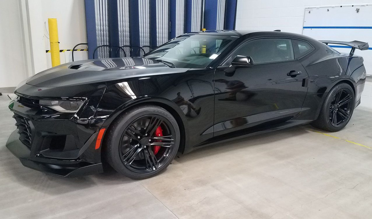 Chevy Camaro Zl1 1le >> Rick Hendrick Takes Delivery Of First Chevrolet Camaro Zl1 1le