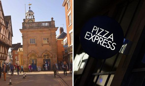 Foodies Say Their Town Is Too Posh For New Pizza Express