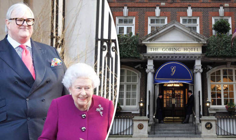 e8b41c157e9 Queen Elizabeth s favours hotelier David Morgan-Hewitt at the Goring ...