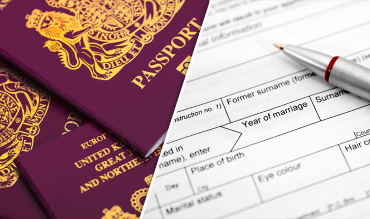 Passport renewal: How to change your NAME or personal details on ...