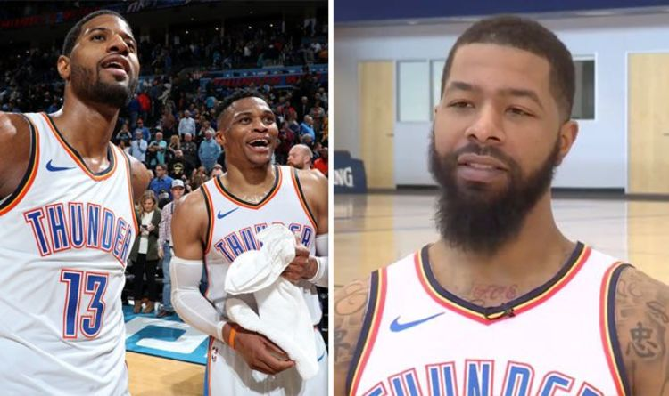 a231edfcd524 Markieff Morris reveals Paul George and Russell Westbrook chat upon OKC  Thunder signing