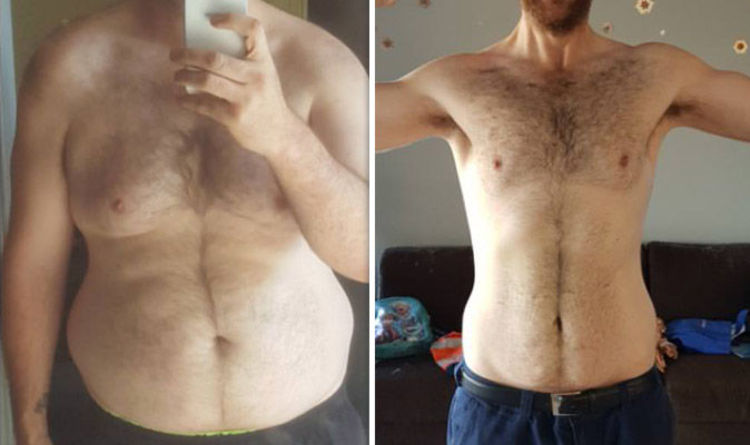 Weight loss: Man lost eight stone and stripped belly fat by cutting