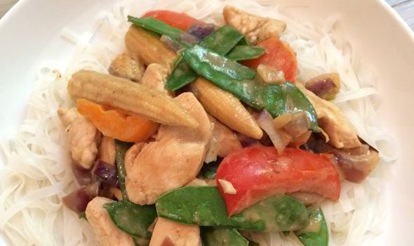 Easy Recipes The Body Coachs Healthy Peanut Butter Chicken With