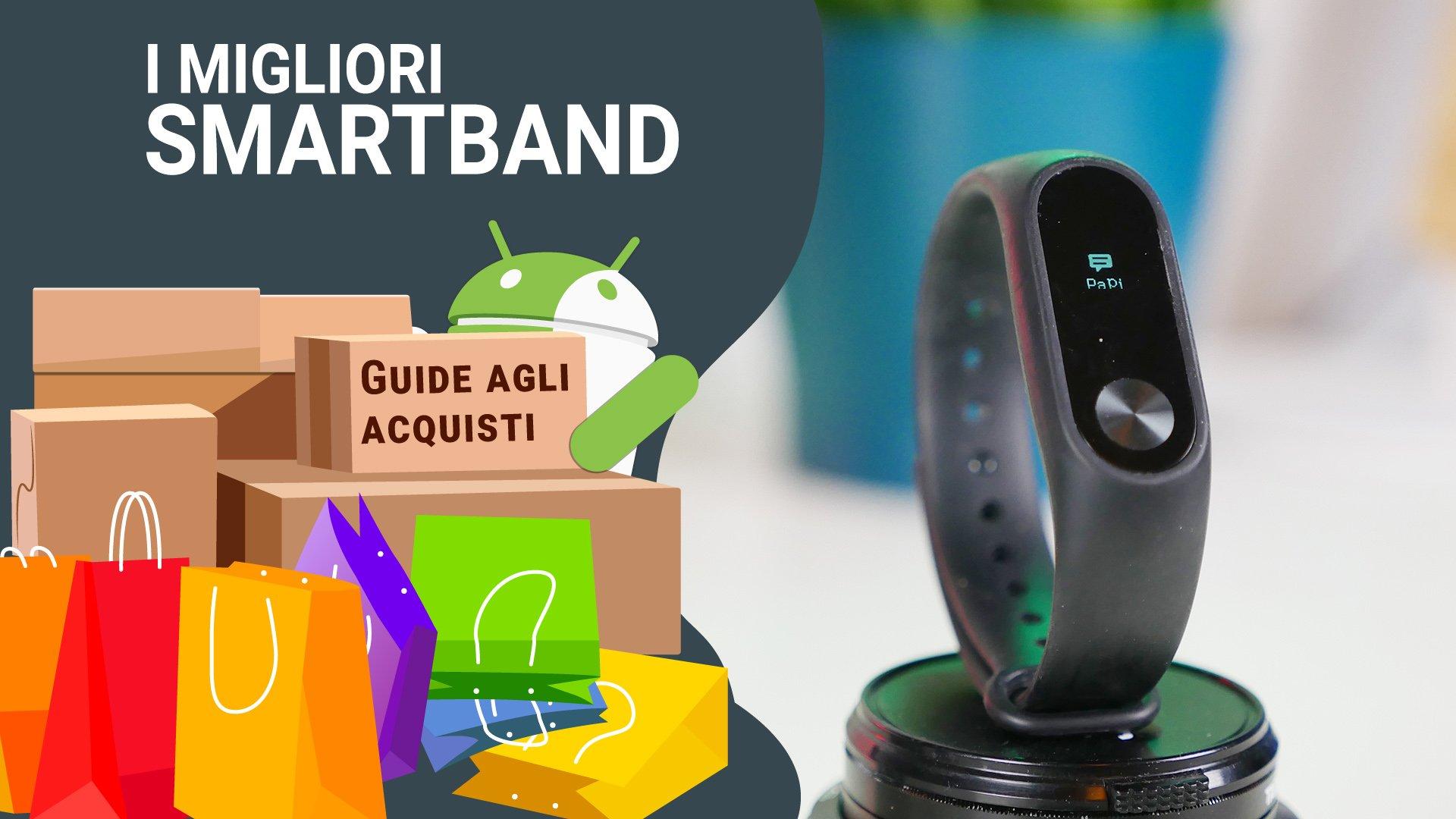 5ddf5633fc Migliori smartband: classifica di Agosto 2019 | TuttoAndroid