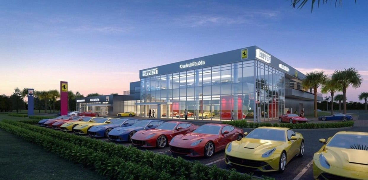 Ferrari Maserati Of Central Florida To Open Largest Ferrari Dealership In The U S