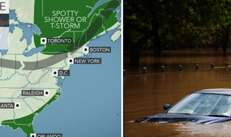 Pennsylvania Flooding Flash FLOOD Warnings Extended Where Are - Flooded roads map